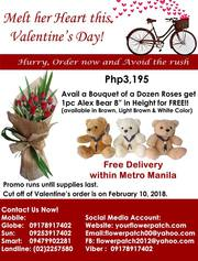Melt her heart this Valentine's Day